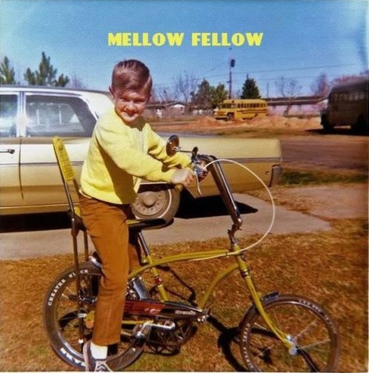 Cover of Mellow Fellow's  Jazzie Robinson  album.