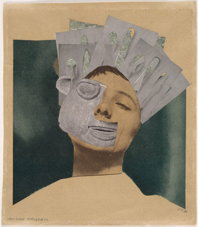 Hannah Höch. Indian Dancer: From an Ethnographic Museum. 1930. Cut-and-pasted printed paper and metallic foil on paper. The Museum of Modern Art. Frances Keech Fund. © 2010 Hannah Höch/Artists Rights Society (ARS), New York/VG Bild-Kunst, Germany