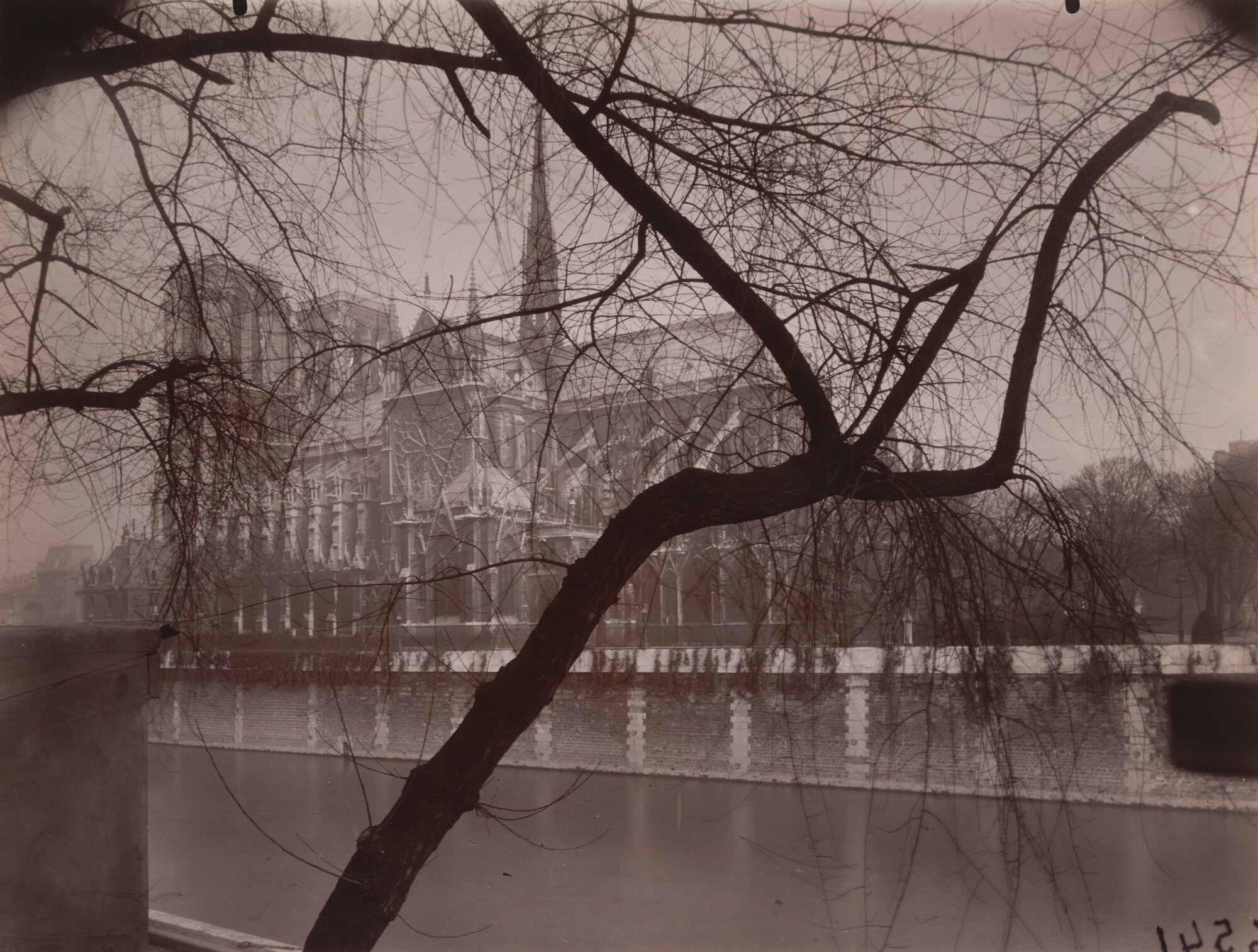 "Eugène Atget.  Notre-Dame . 1925. Gelatin silver printing-out-paper print, approx. 7 x 8 7/8"" (17.8 x 22.5 cm). Abbott-Levy Collection. Partial gift of Shirley C. Burden"