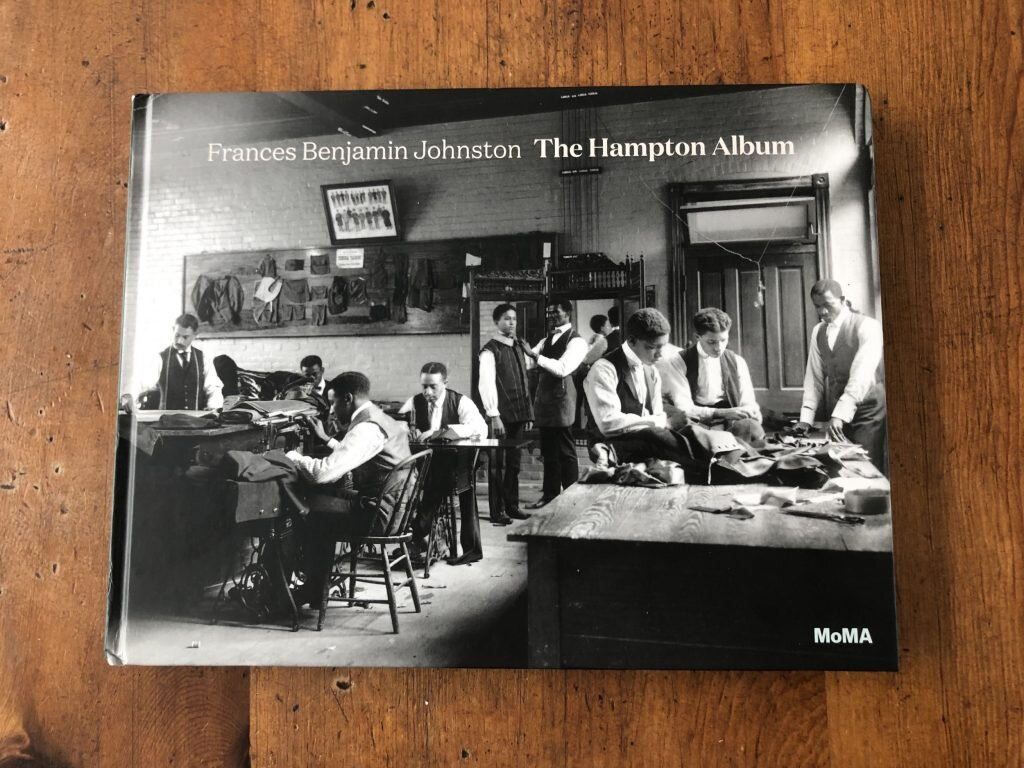 Frances Benjamin Johnston,  The Hampton Album  ed. Sarah Hermanson Meister. Cover of the trade edition.