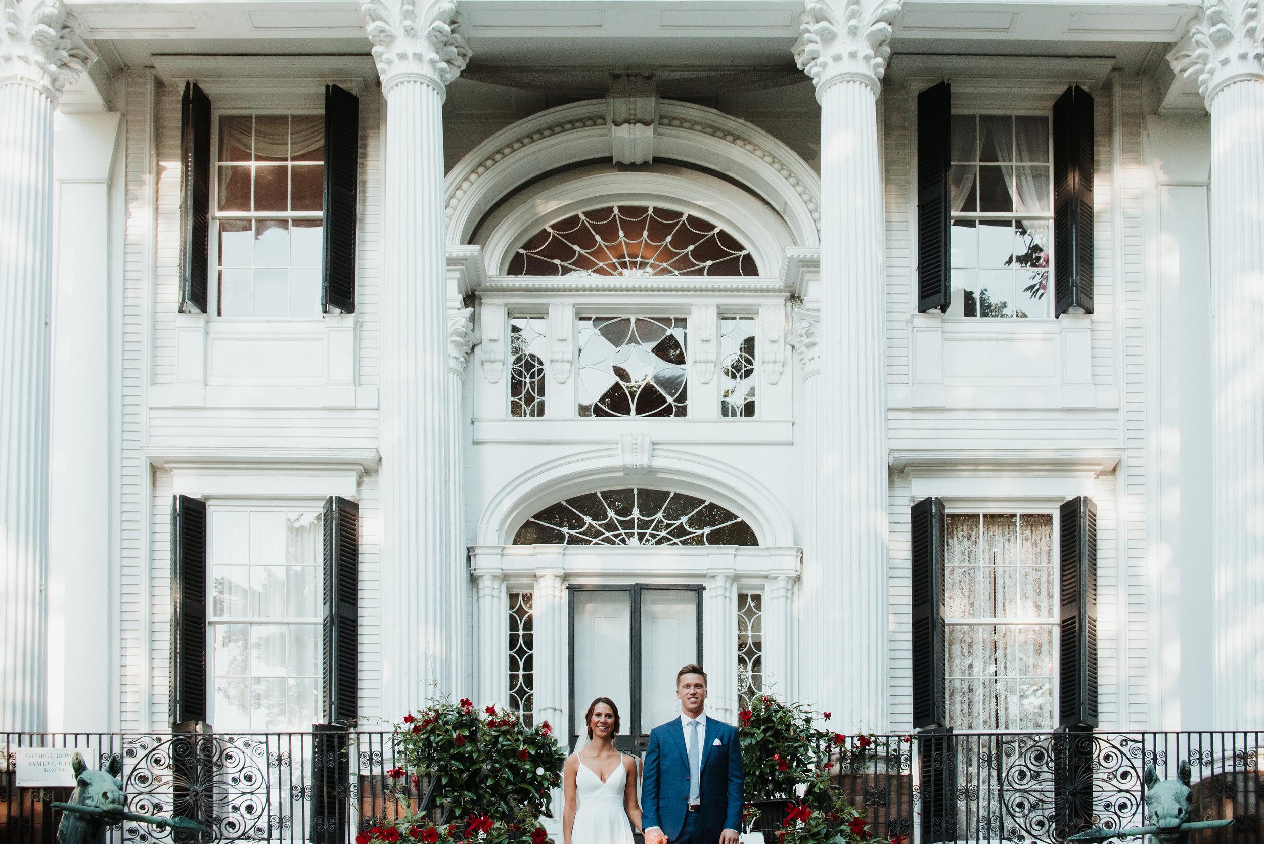 Linden Place Wedding
