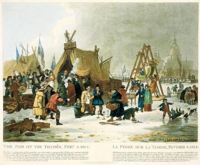The Frost Fair of 1814, by Luke Clenell