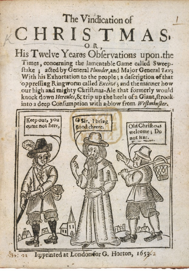 The Vindication of Christmas, 1652