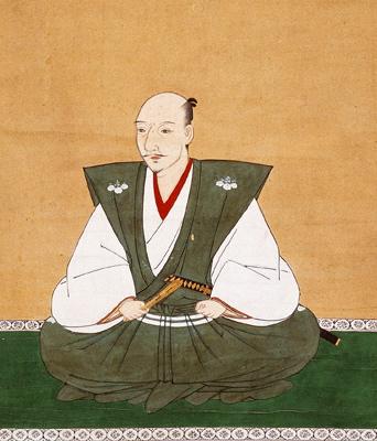 Oda Nobunaga, 16th century portrait, by Kano Motohide