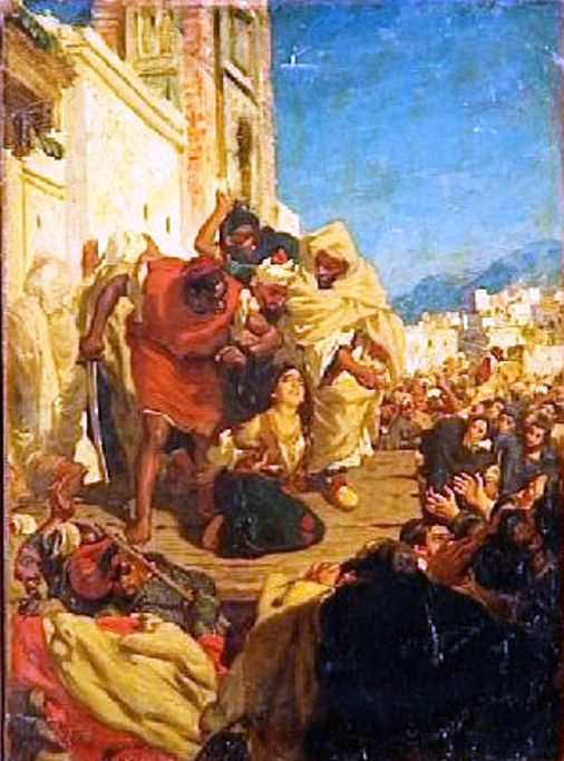 Execution of a Moroccan Jewess, by Alfred Dehodencq