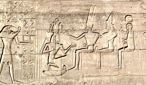 Hieroglyph depicting the Sed festival.