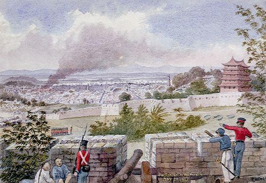 British bombardment of Canton 1841