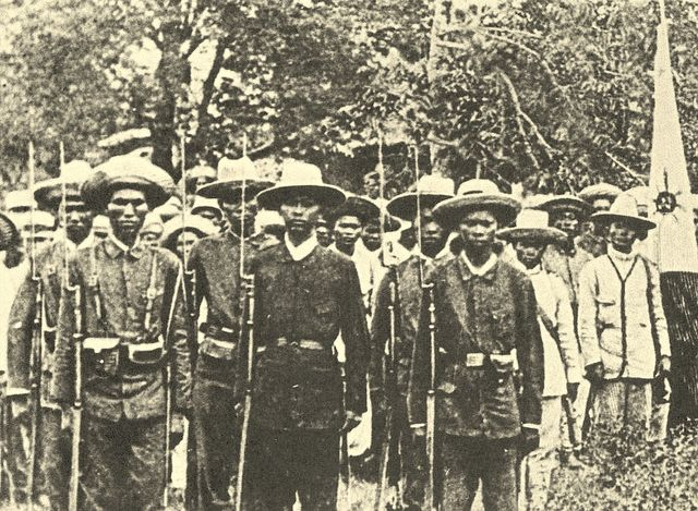 Filipino Soldiers 1872
