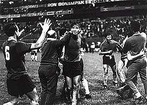 El Salvador defeats Honduras in Mexico City, 1969