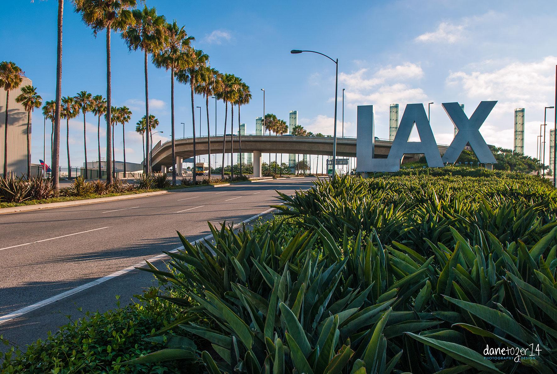 LAX, Los Angeles U.S.A