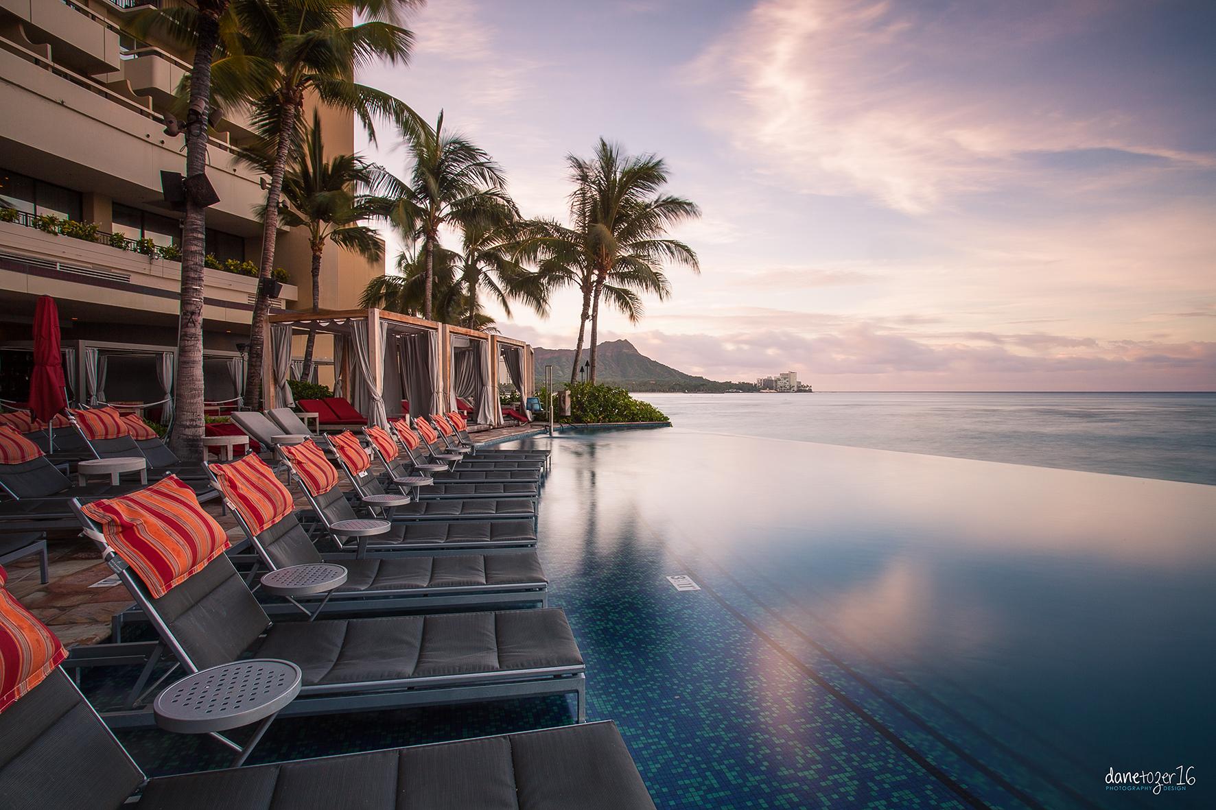 The Sheraton Infinity Pool, Waikiki Oahu