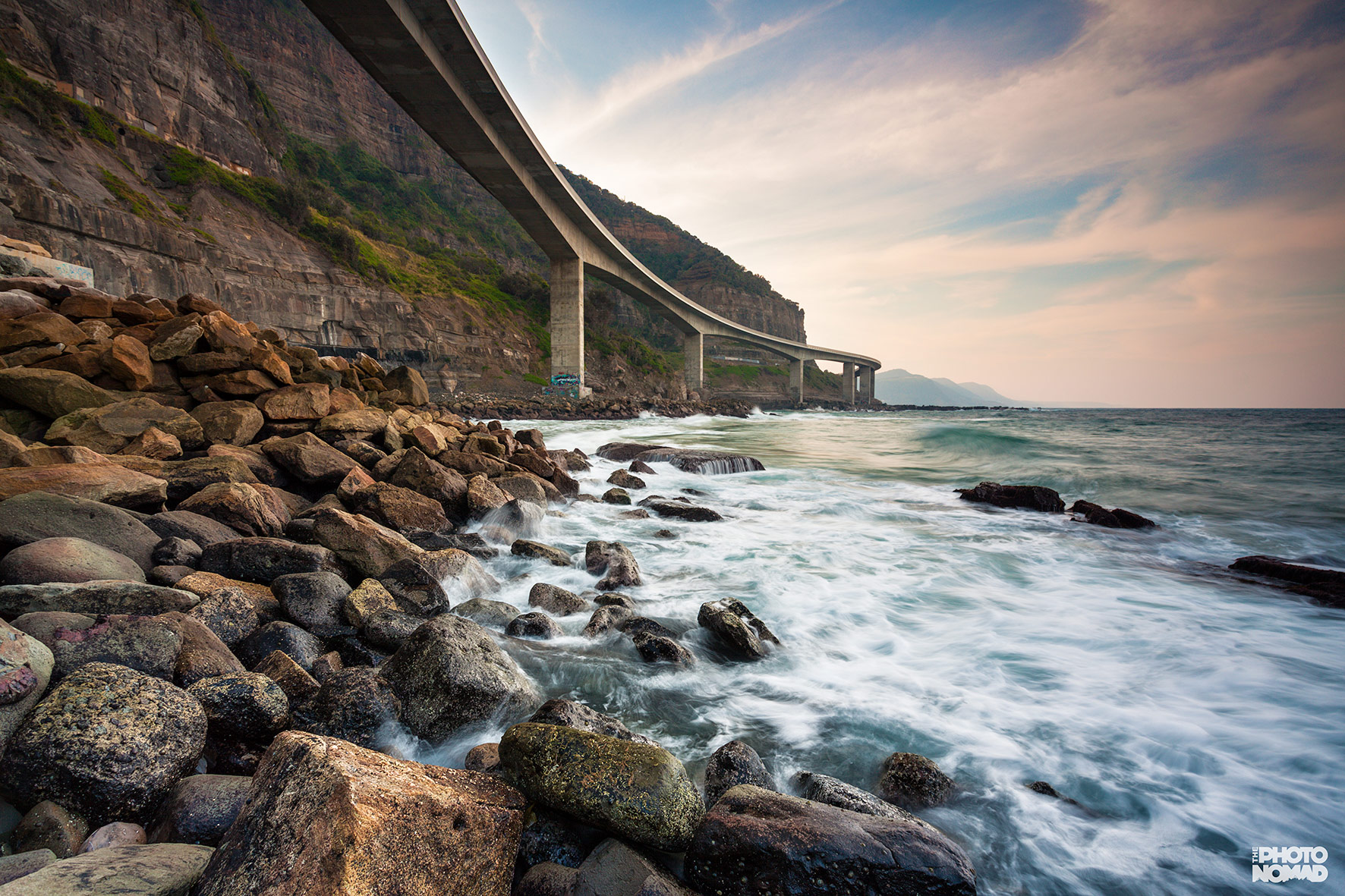 Sea Cliff Bridge, Coalcliff NSW