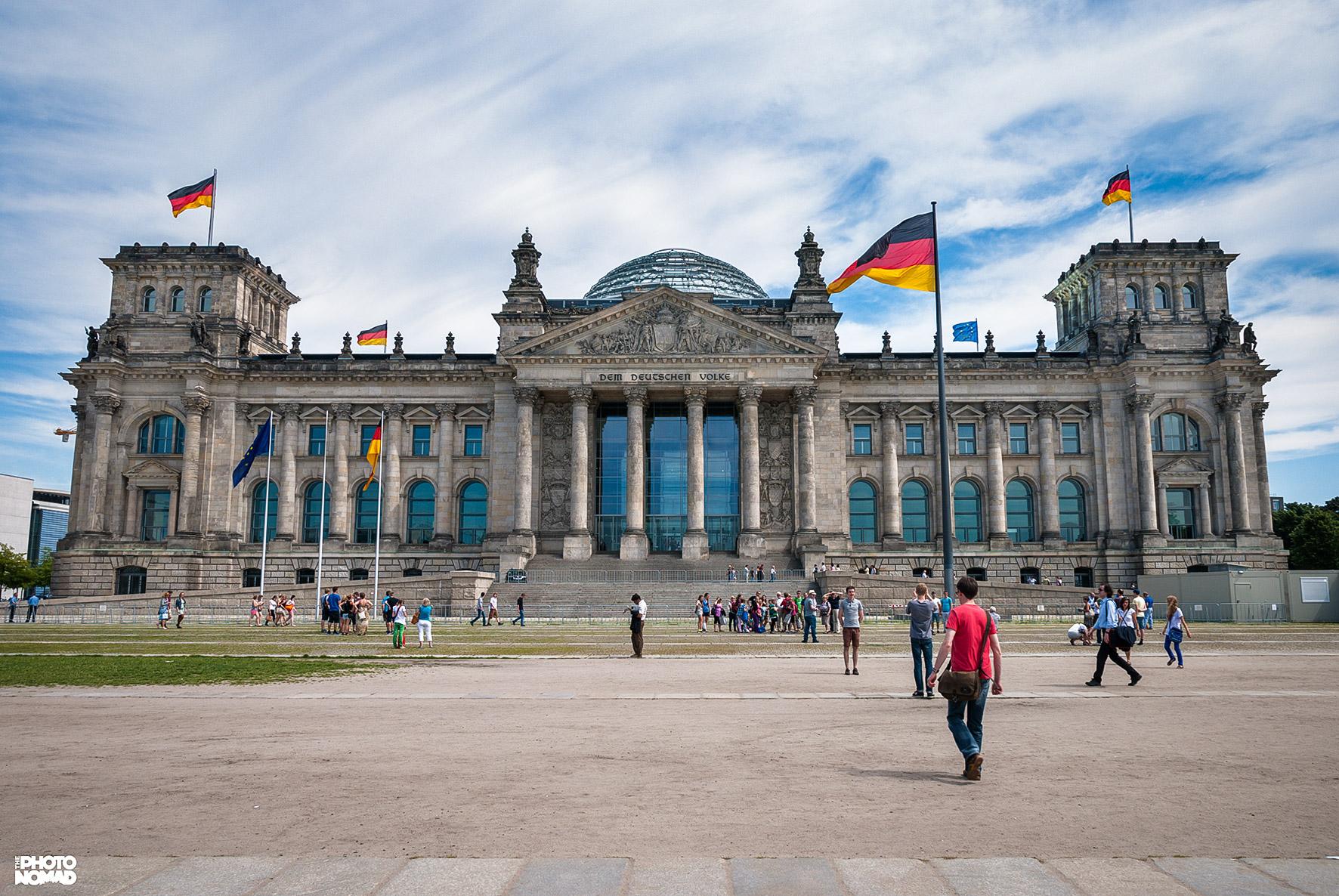Reichstag Building, Berlin Germany