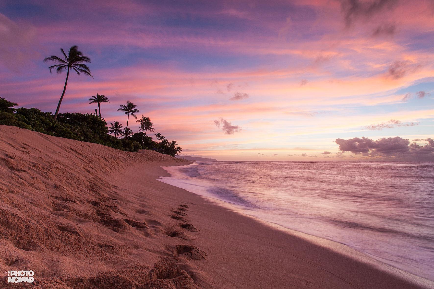 Sunset Beach, North Shore Oahu, Hawaii