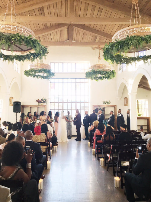 Center for the Arts Eagle Rock Wedding