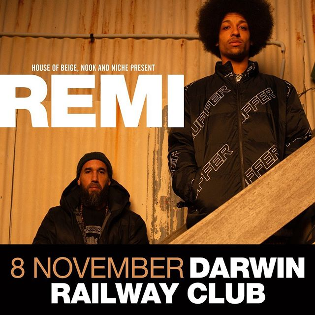 DARWIN ANNOUNCEMENT • REMI @remikolawole is heading our way on 8 Nov and we're going to create a party • Tickets on sale now from www.remikolawole.com 🔥