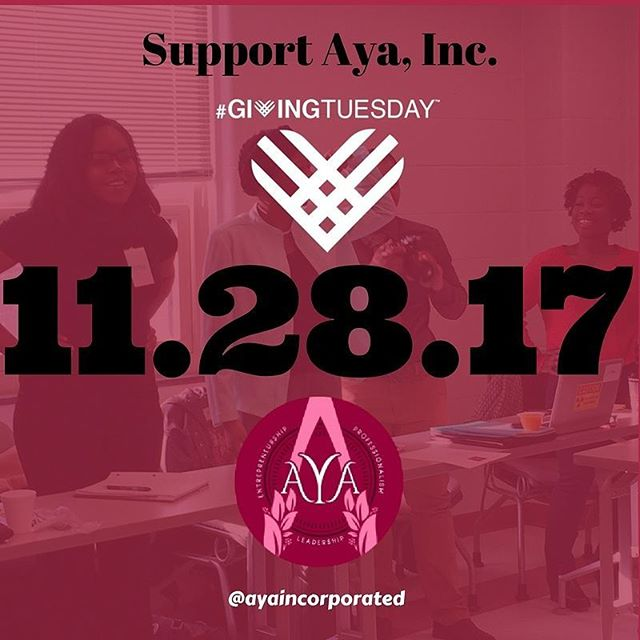 Give this Tuesday to support our 2018 initiatives. Donate by using the link in our bio!