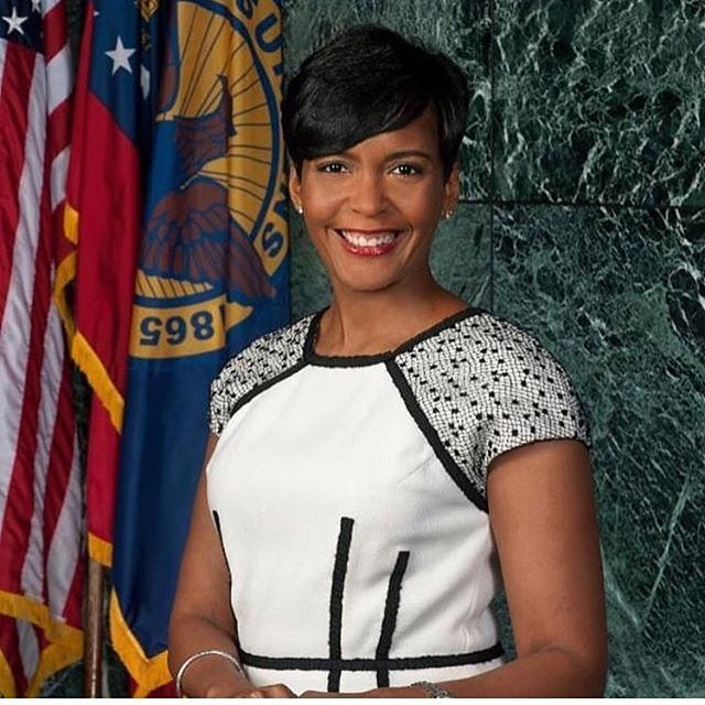 """Black Girl Magic is Real"" Congrats to Mayor Elect @keishabottoms ❤️"