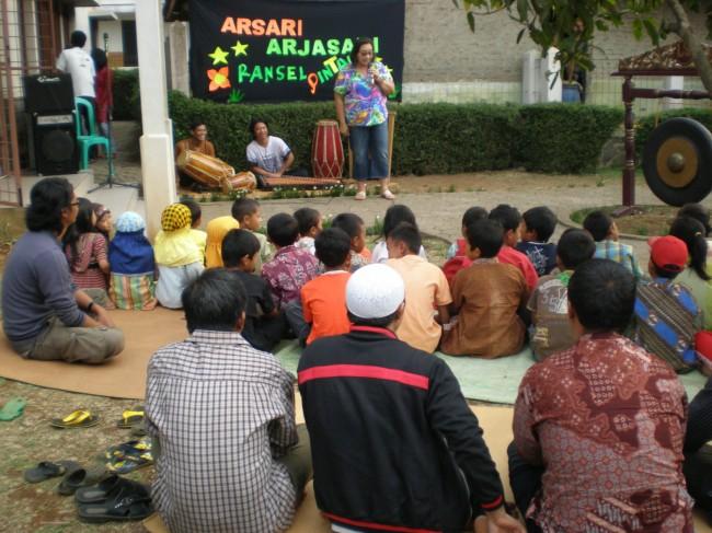 The Education Program, ARSARI Smart Backpack, in Arjasari Village - September 2012