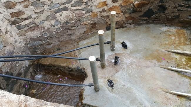 Pompa air hidrolik Tirta Harapan Lestari di Desa arjasari