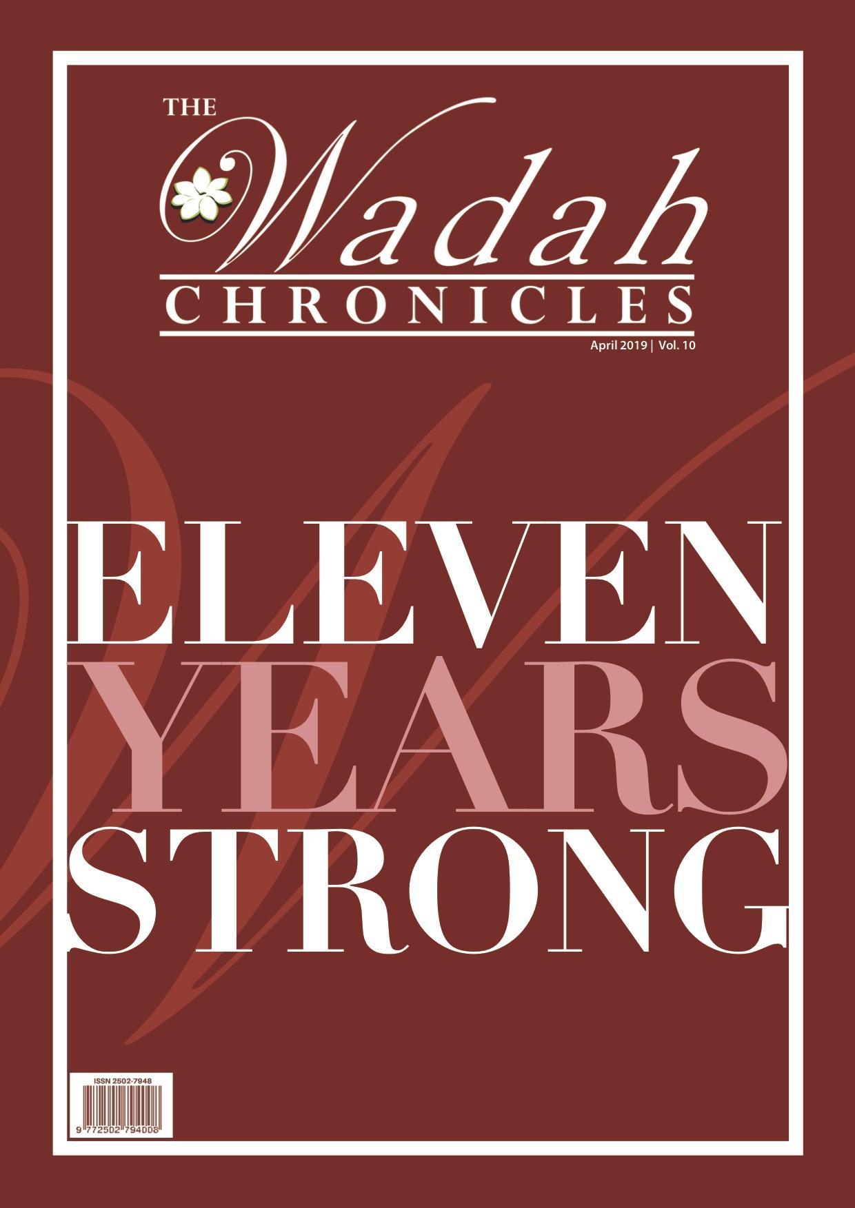 Wadah Chronicles - April 2019