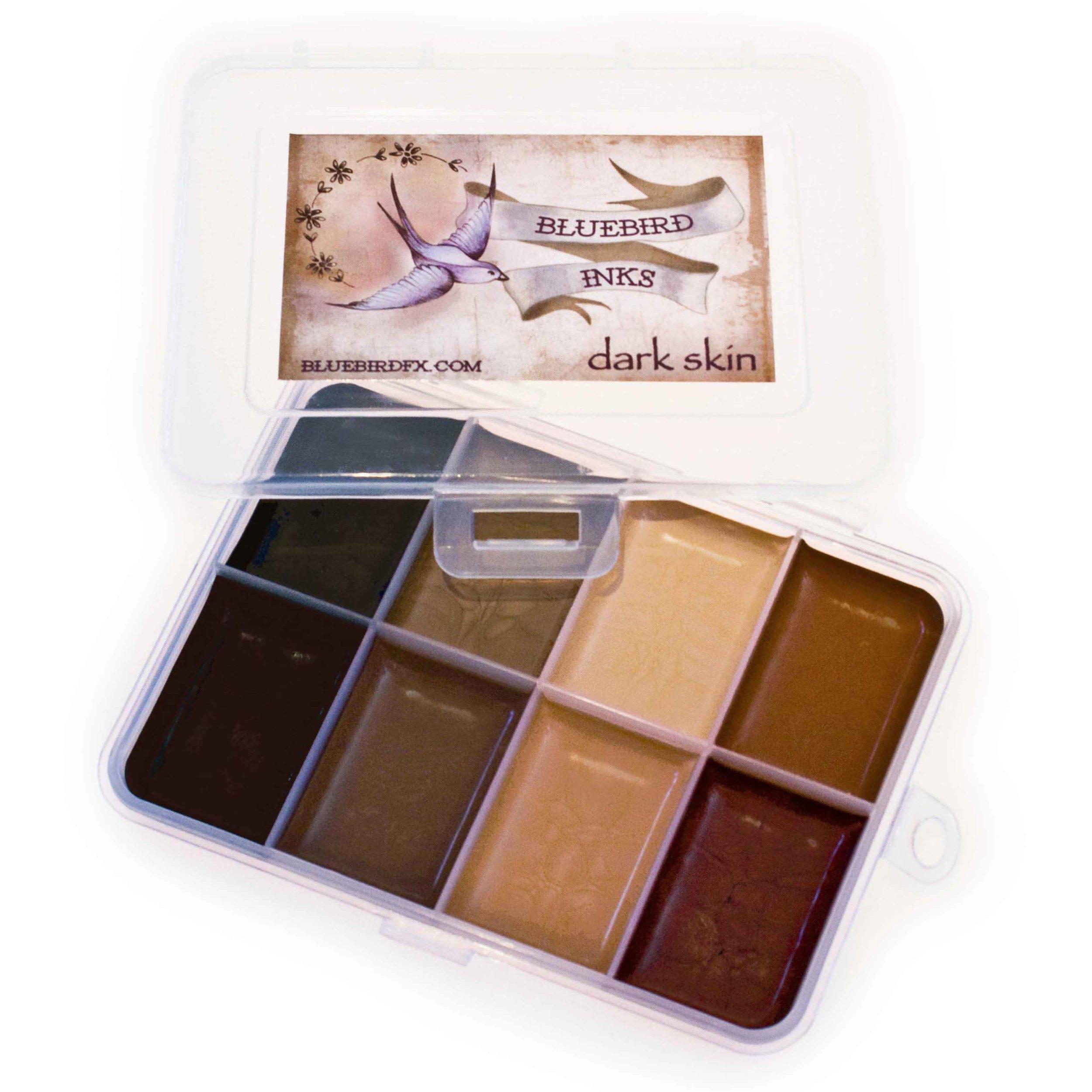 go to Dark Skin colour chart