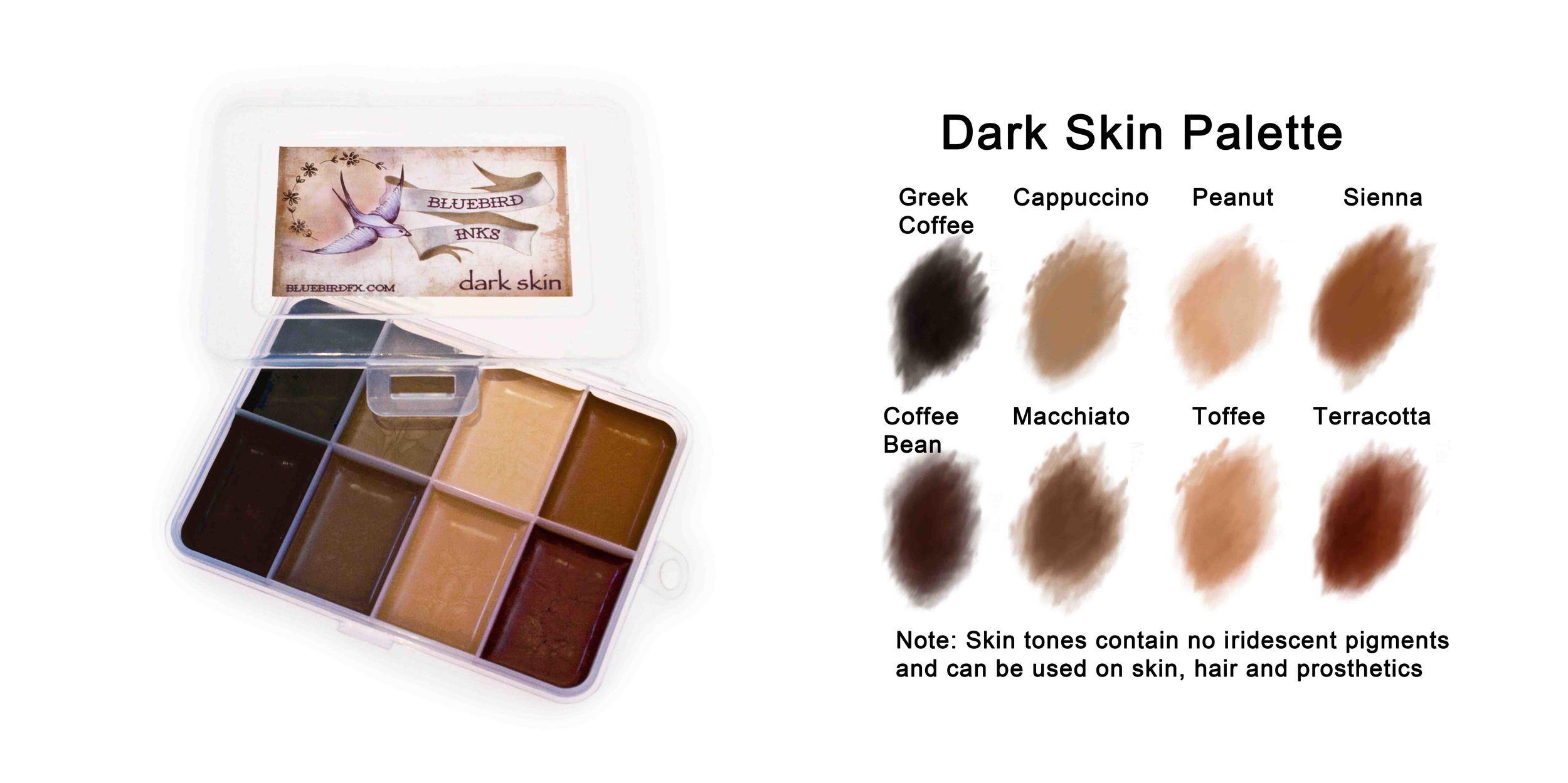 Dark Skin Palette