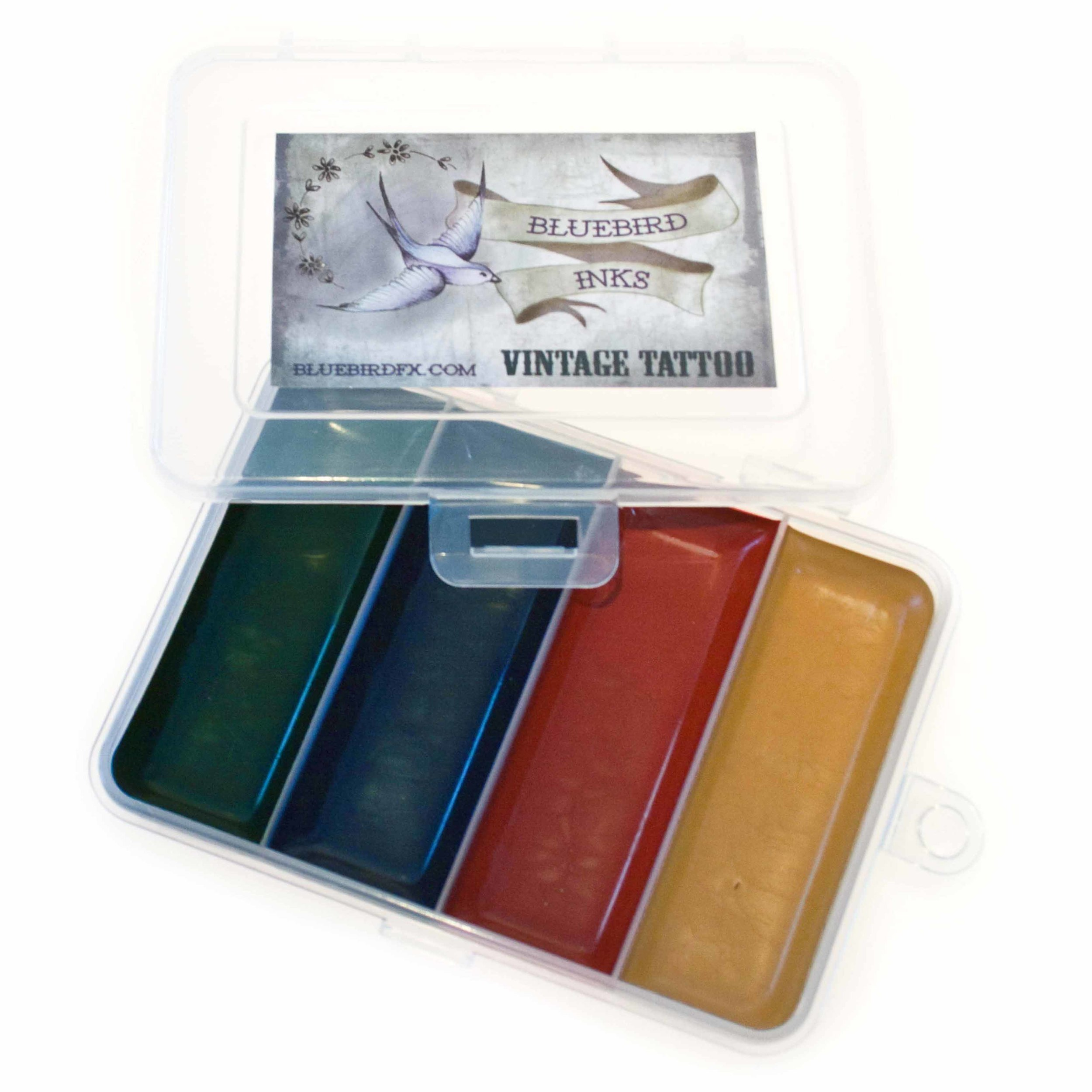 go to Vintage Tattoo colour chart