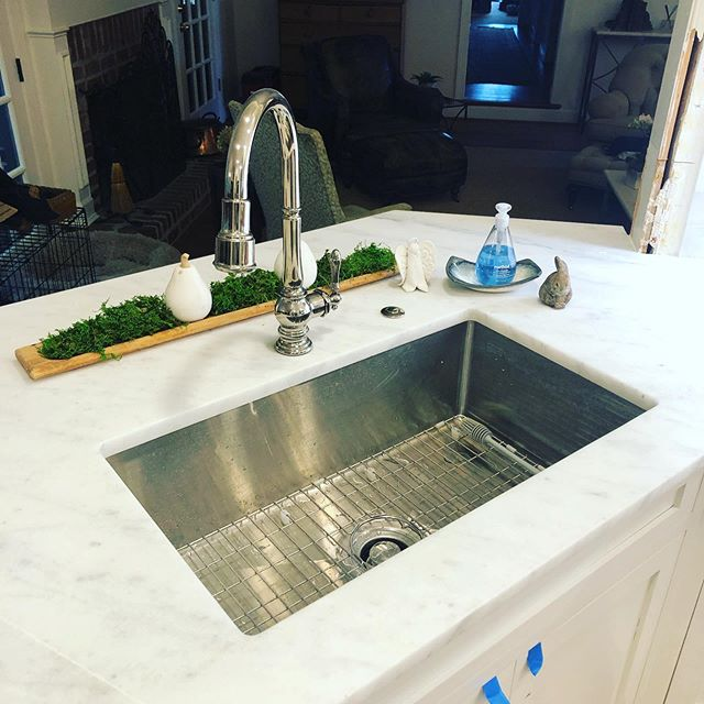 Wonderful time of year for a kitchen upgrade! #kohler #kitchen #remodel #weloveourjob