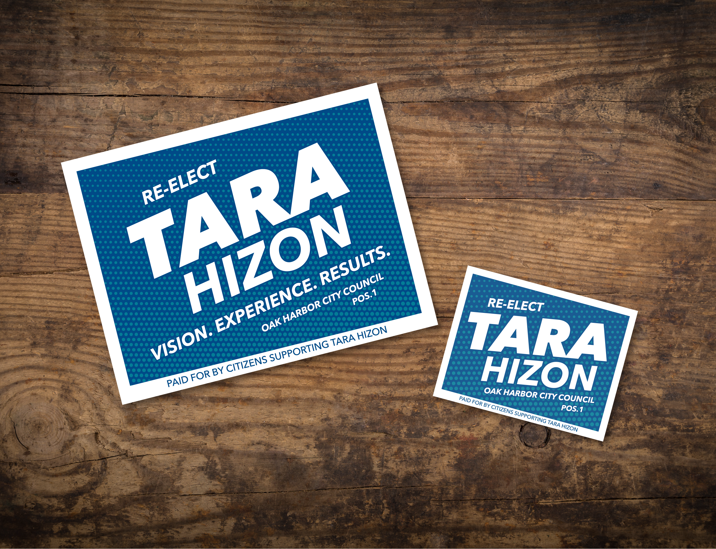 Large and Small Sign Mockups