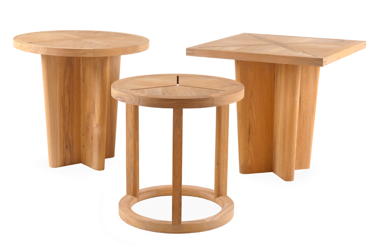 Sand Dollar Round Side Table Link Outdoor