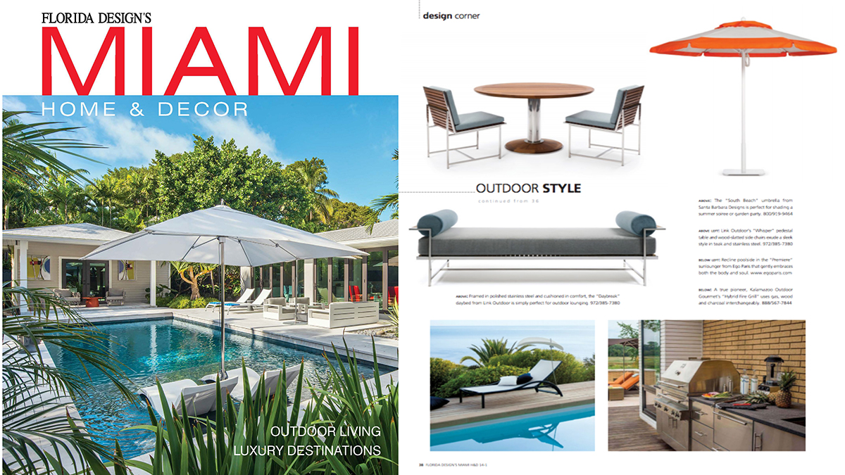 Florida Design's Miami  2018, featuring the  Daybreak Collection  and  Pedestal Dining Table