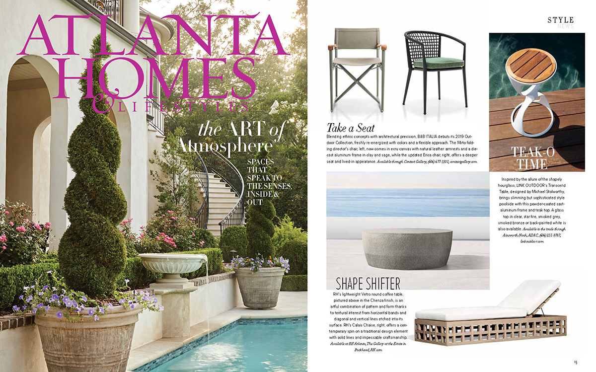 Atlanta Homes & Lifestyle  2019, featuring the  Transcend Table