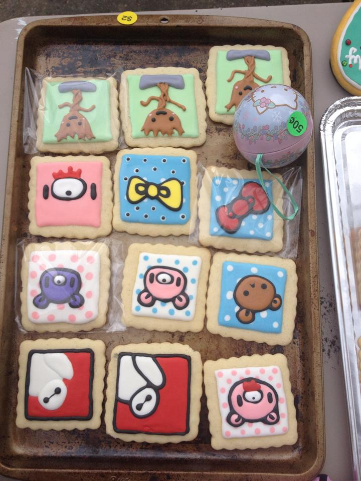 Cookies that Halley and her friends made for Nerd Rummage Sale 2.0