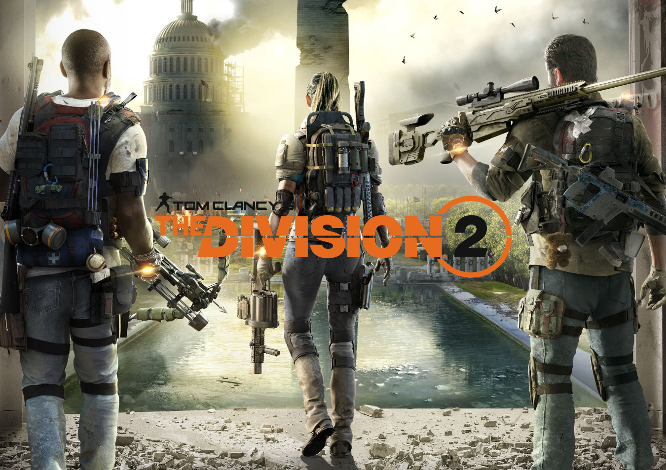 The Division 2 logo and press art are all property of Ubisoft and Ubisoft Massive.