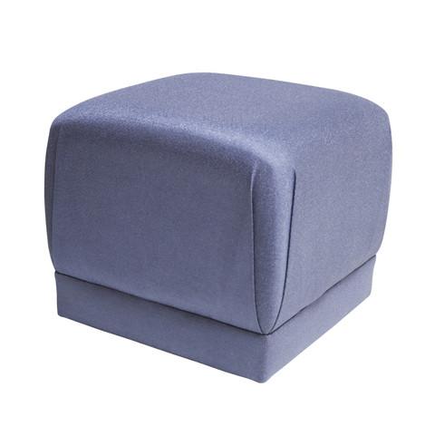 Custom Pouf In Metallic Blue.02.jpg