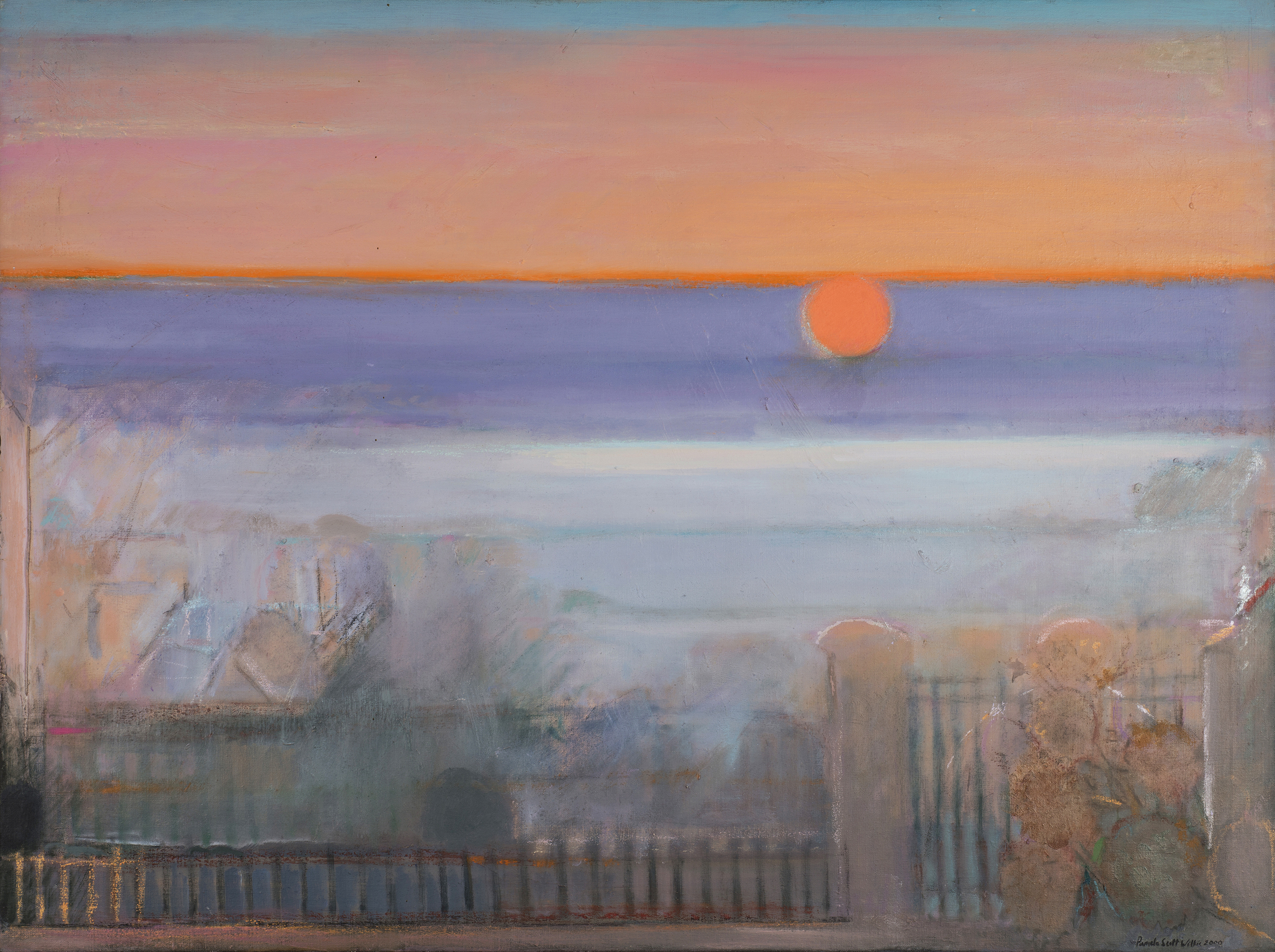 Winter Solstice, 98 x 120 cm, oil on linen, Private Collection