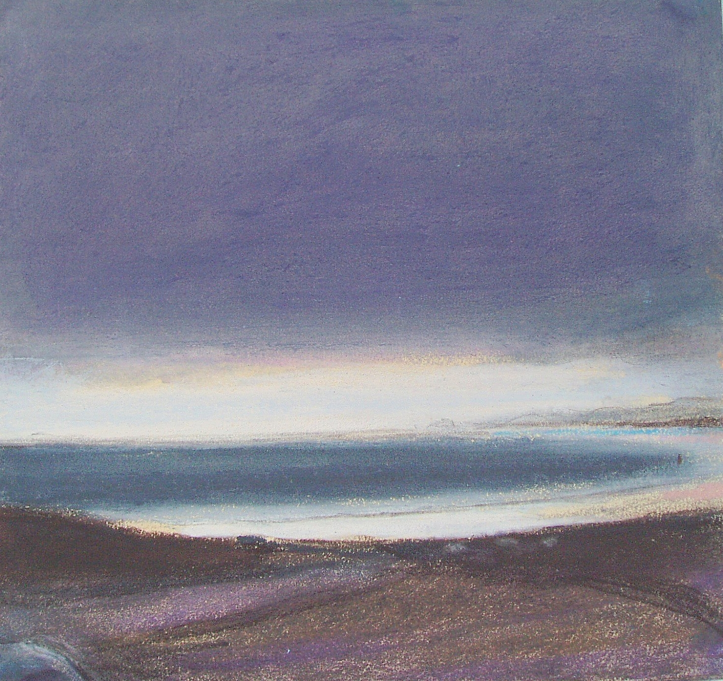 Slate Grey Seascape