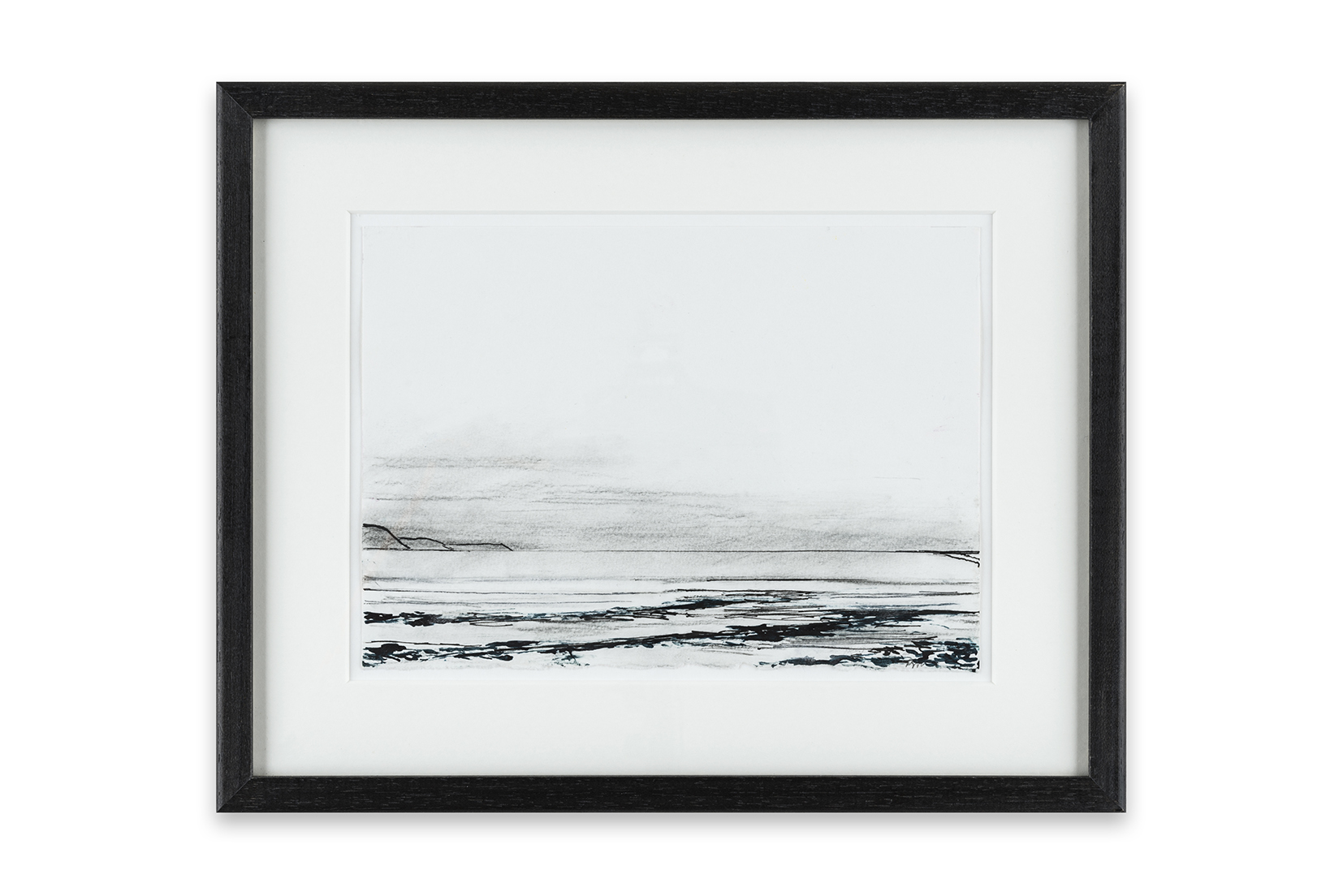 4 Receding Tide, Time and Tide series, 15 x 21 cm, ink and charcoal on paper