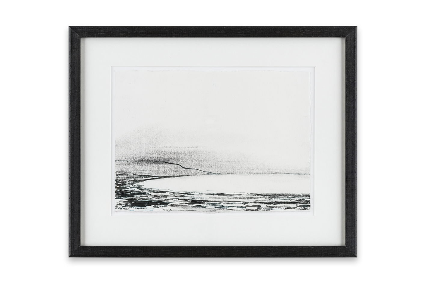 2 Bay, Time and Tide series, 15 x 21 cm, ink and charcoal on paper