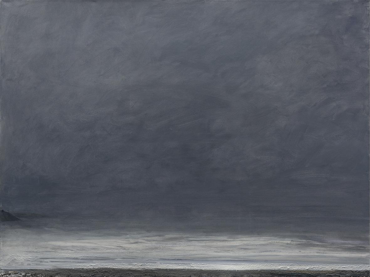 30 Storm, 98 x 120 cm, oil on linen