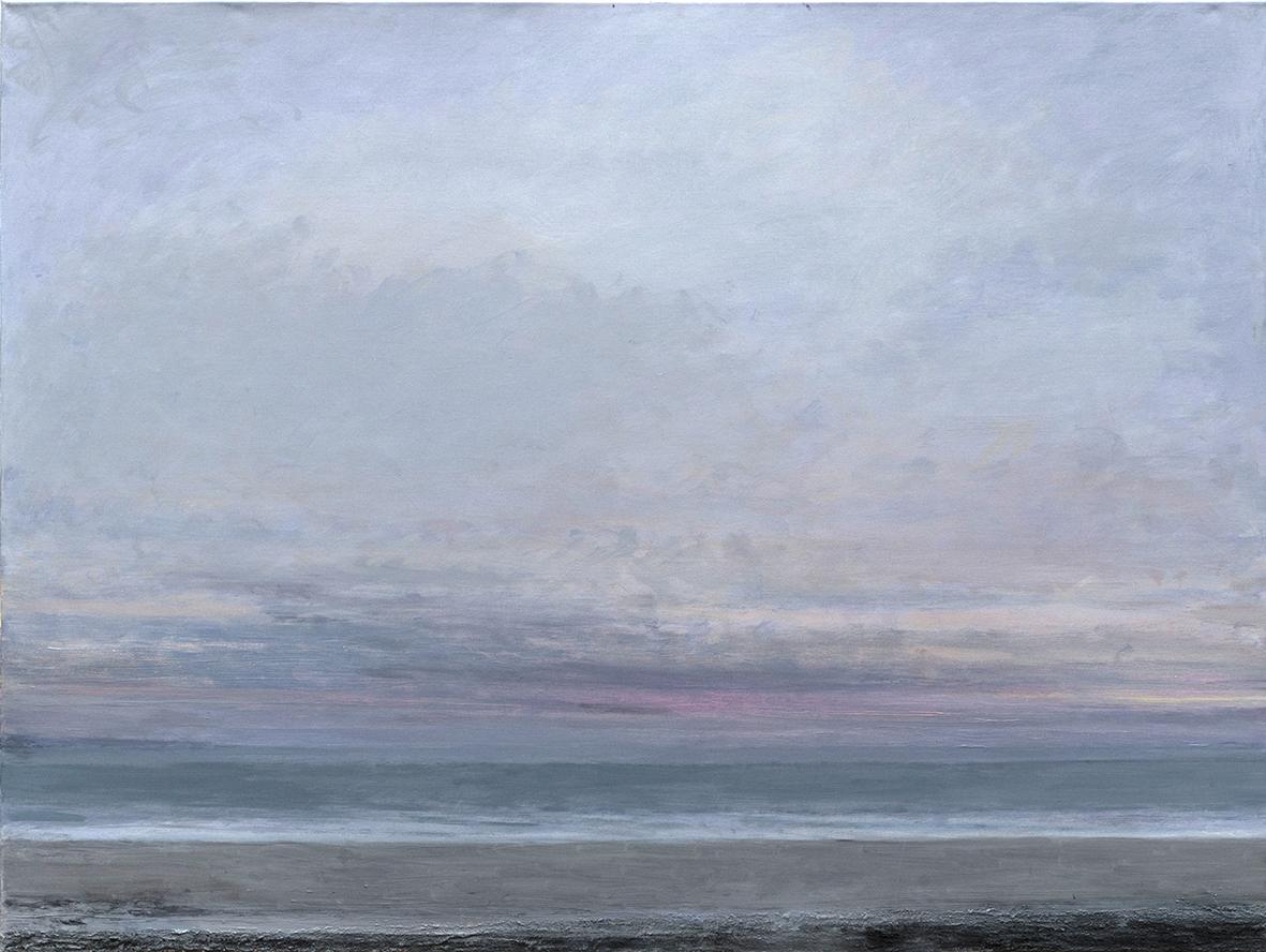 36 Evening Hiatus, 98 x 120 cm, oil on linen