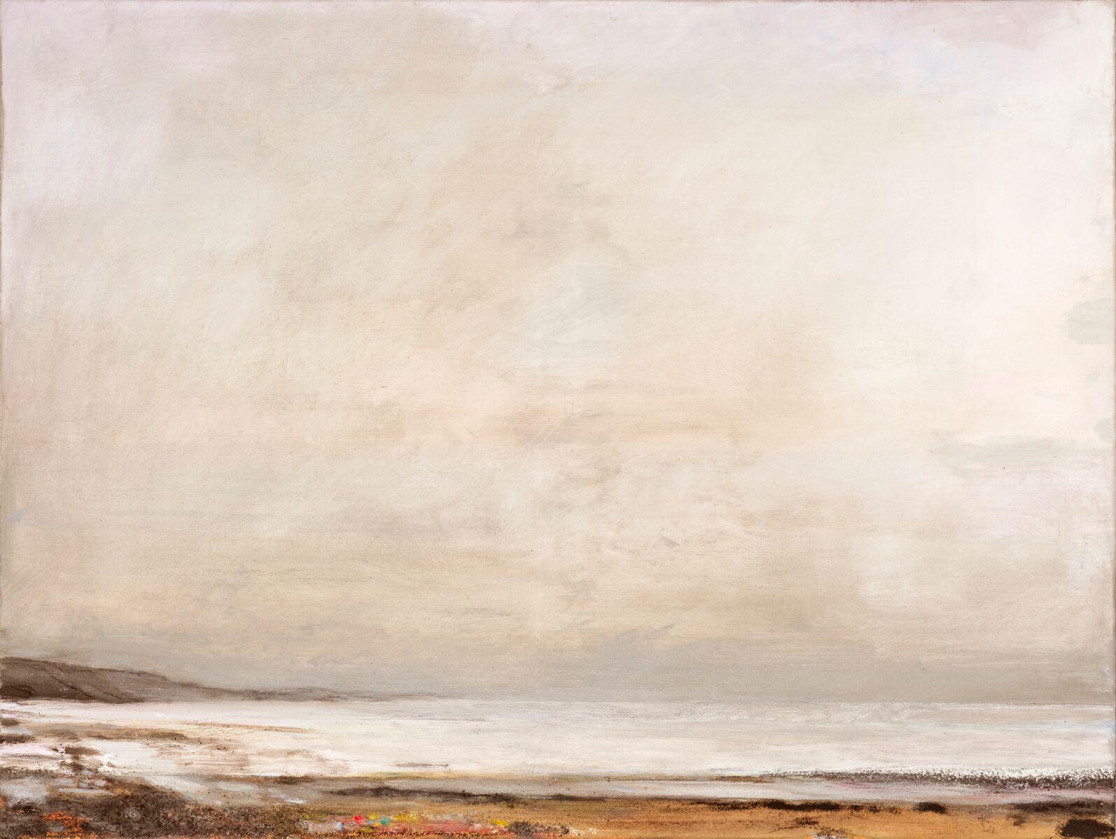39 Winter Sea, 70x100cm, oil on linen
