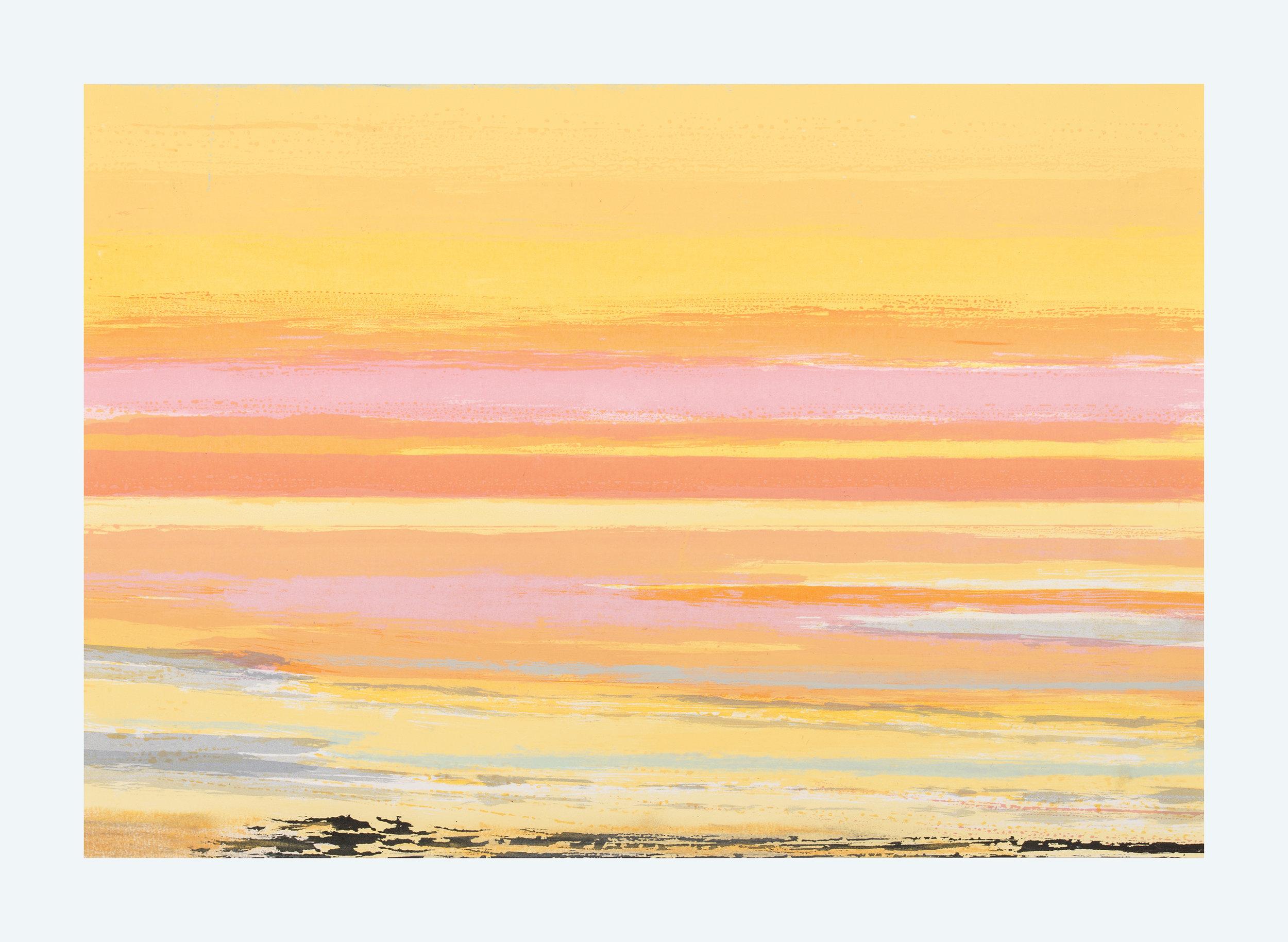 21 Golden Memory, 35x43cm, screen print, ed of 10