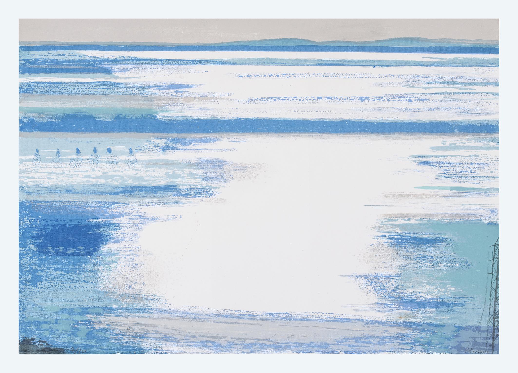 23 Forgotten Flood, 35x50cm, screen print, ed of 10