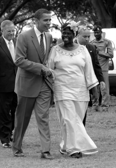 Dr Wangari Mathai