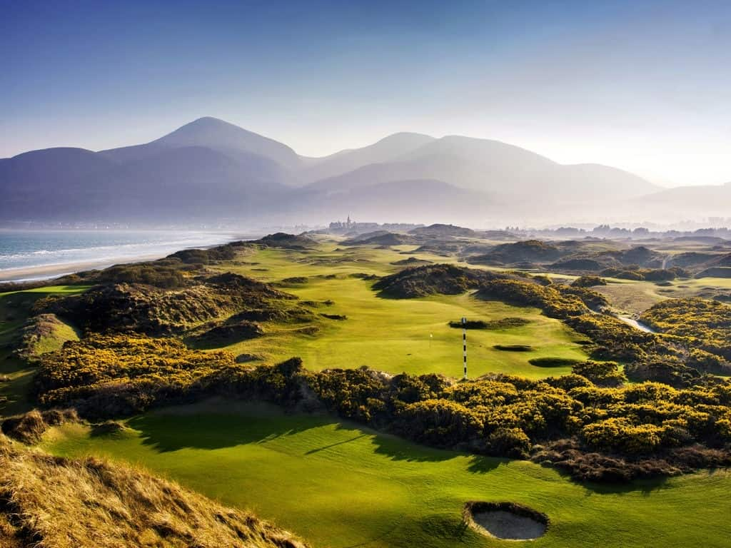 Image result for Royal County Down golf
