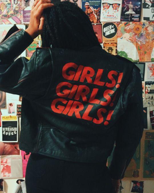 Customized jacket by Sarah Inkley