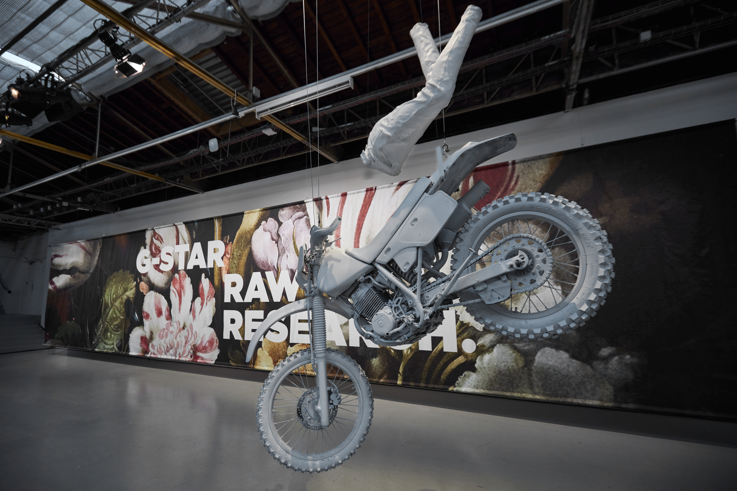 G-STAR, RAW Research Collection Presentation, Paris, 2017