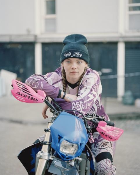 'One Wheel Bad', Spencer Murphy, London